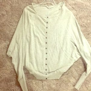 ALL SAINTS button sweater